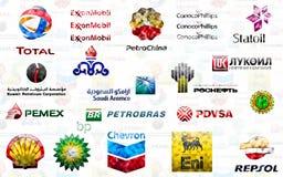 Grote Olie Stock Afbeelding
