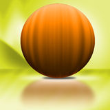 Grote Oranje Pompoen Stock Afbeeldingen