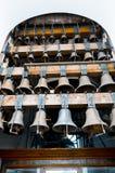 Grote oude klokken van Kyiv Stock Afbeelding