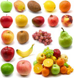 Grote pagina van vruchten royalty-vrije stock afbeeldingen