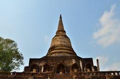 Grote pagode en de hemel Stock Foto's