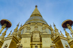 Grote pagode in lumphun Royalty-vrije Stock Afbeelding