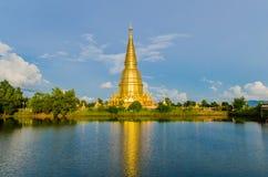 Grote pagode in lumphun Stock Foto