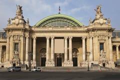 Grote Palais in Parijs. Stock Fotografie