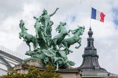 Grote Palais Parijs Frankrijk Royalty-vrije Stock Afbeeldingen
