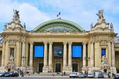 Grote Palais in Parijs, Frankrijk Stock Afbeelding