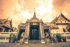 Grote Paleis en Tempel van Emerald Buddha Stock Fotografie