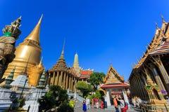 Grote Paleis of Tempel van Emerald Buddha Stock Fotografie