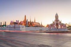 Grote Paleis of Tempel van Emerald Buddha Stock Foto's