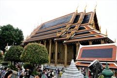 """Grote Paleis Thaise พระบรภ¡ ภ¡ ภ""""ภ² รภ² ช วัภ‡, Phrabarommaharadchavang - een complex van gebouwen  Royalty-vrije Stock Foto"""