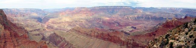 Grote panoramische Canion stock afbeeldingen