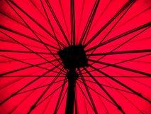 Grote paraplu Royalty-vrije Stock Foto's