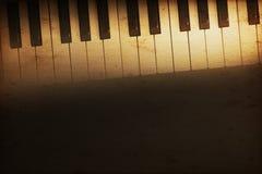 Grote piano Royalty-vrije Stock Foto