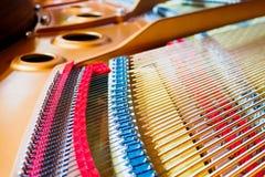 Grote pianokoorden royalty-vrije stock afbeelding
