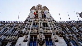 Grote plaats in België Royalty-vrije Stock Foto's