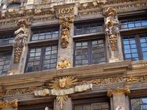 Grote Plaats in Brussel 1699 jaar Royalty-vrije Stock Fotografie