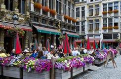 Grote plaats - Brussel Royalty-vrije Stock Afbeelding
