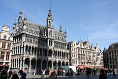Grote Plaats in Brussel Royalty-vrije Stock Foto