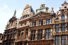 Grote plaats Brussel Royalty-vrije Stock Foto