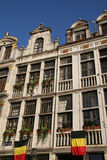 Grote Plaats in Brussel Royalty-vrije Stock Fotografie