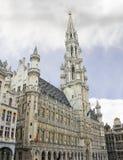 Grote Plaats en Grote Markt in Brussel Stock Foto