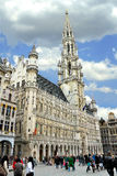 Grote Plaats en Grote Markt in Brussel, Stock Foto's
