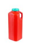 Grote plastic container voor urinesteekproeven Royalty-vrije Stock Afbeeldingen