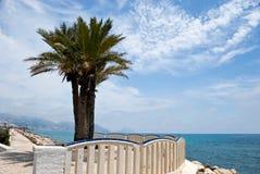 Grote playa levante-benidorm, Spanje Stock Fotografie