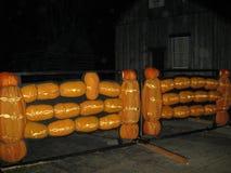 Grote Pompoenvuurhaard Stock Fotografie