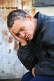 Grote problemen en hoofdpijn. royalty-vrije stock foto