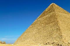 Grote pyramidekant Royalty-vrije Stock Foto
