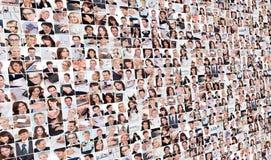 Grote reeks diverse bedrijfsbeelden Stock Foto's