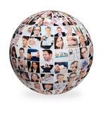 Grote reeks diverse bedrijfsbeelden Stock Afbeeldingen