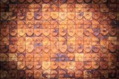 Grote rode grungy bakstenen muurtextuur Stock Foto
