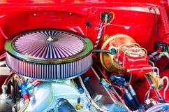 Grote Rode Motor royalty-vrije stock afbeeldingen