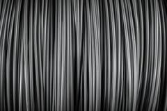 Grote rol van Aluminiumdraad Stock Fotografie