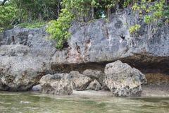 Grote rotsen royalty-vrije stock foto