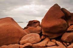 Grote rotsen Stock Afbeeldingen