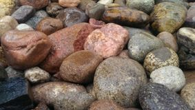 Grote rotsen Royalty-vrije Stock Afbeelding