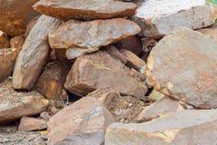 Grote rotsstapel Stock Foto's