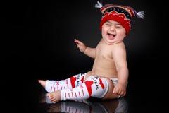 Grote ruige baby Royalty-vrije Stock Fotografie
