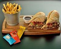 Grote sandwich Stock Afbeelding