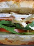 Grote sandwich Royalty-vrije Stock Afbeeldingen