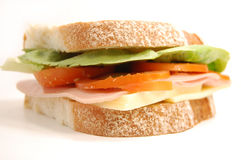Grote sandwich Stock Afbeeldingen