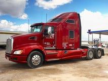 Grote Semi Vrachtwagen, Amerika royalty-vrije stock foto