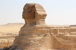 Grote Sfinx van Giza. Stock Afbeeldingen