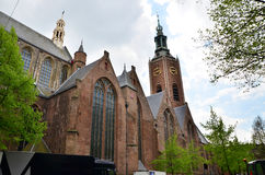 Grote of Sint-Jacobskerk in The Hague, Netherlands. Stock Image