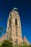 Grote of Sint-Laurenskerk, a church in Rotterdam Royalty Free Stock Images