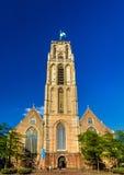 Grote of Sint-Laurenskerk, a church in Rotterdam Stock Photos