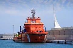 Grote sleepboot royalty-vrije stock fotografie